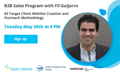 WEBINAR: Target Client Wish List Creation and Outreach Methodology