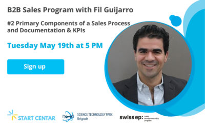 WEBINAR: Primary Components of a Sales Process and Documentation & KPIs