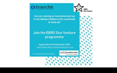 Star Venture program: Prilika za startape Zapadnog Balkana